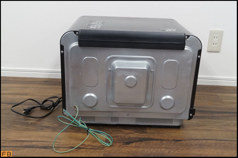 税込◆TOSHIBA◆過熱水蒸気オーブンレンジ ER-MD200 30L グンランレッド 取説付 東芝-B64452_画像3