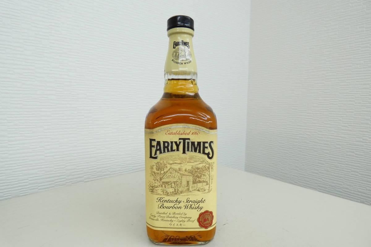 K★ EARLY TIMES アーリータイムズ ウイスキー 古酒 未開栓