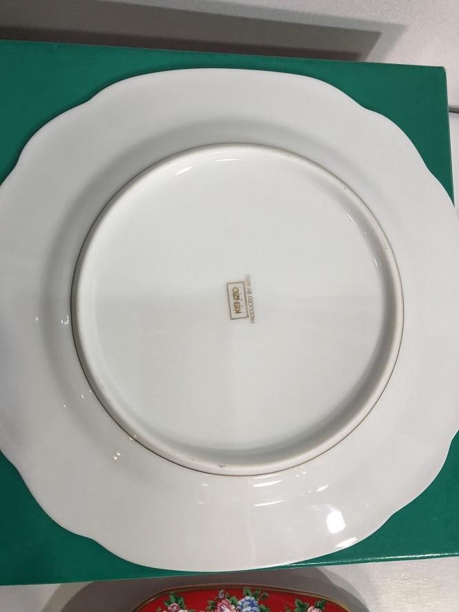 KENZO ケンゾー KZ 5164 コム アン ジャルダン ケーキ皿セット 5枚セット 未使用_画像4