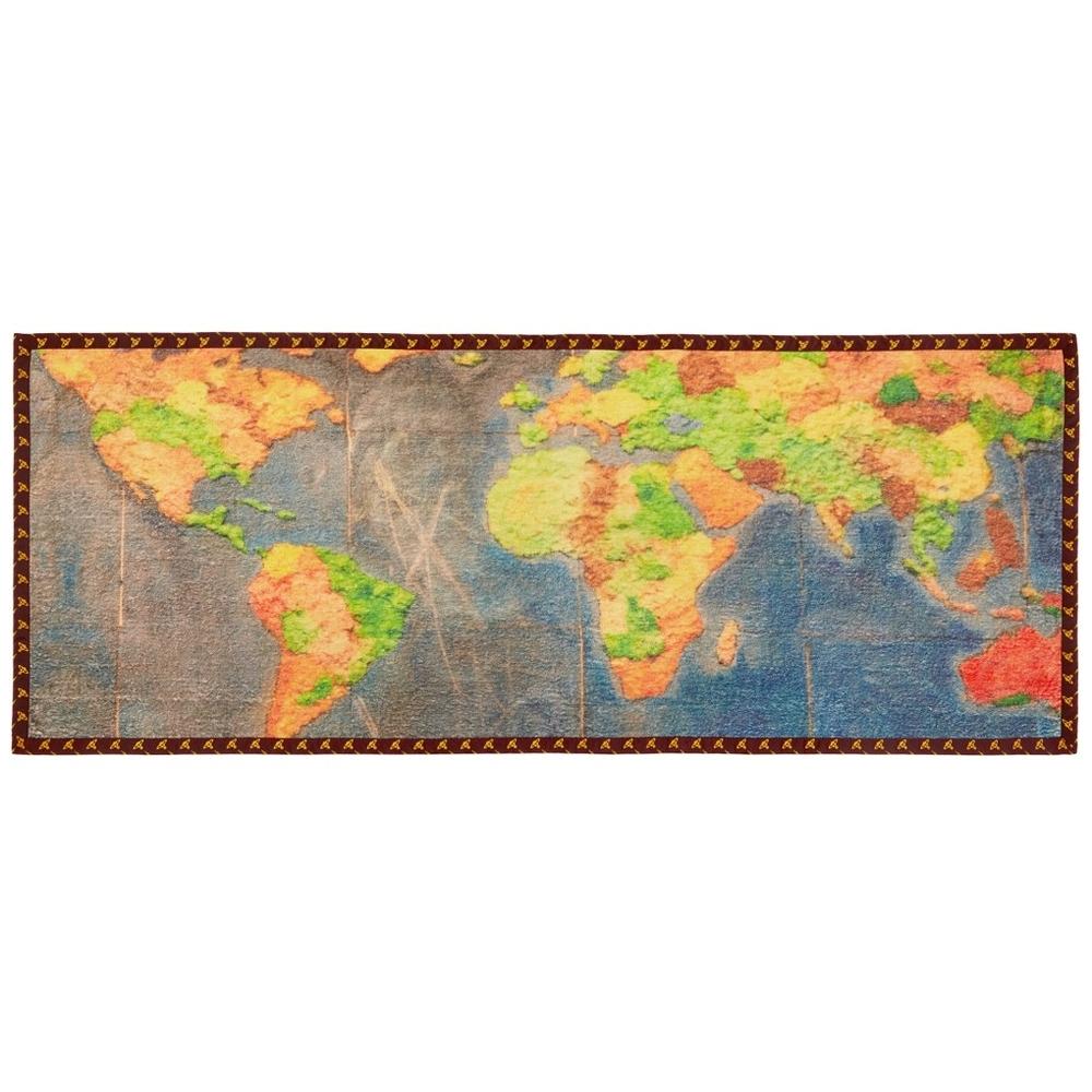 日本国内未入荷★イタリア製★地図 マップ プリント ビーチタオル★ヴィヴィアンウエストウッド マンVivienne Westwood MANタオルMAP Towel_画像1