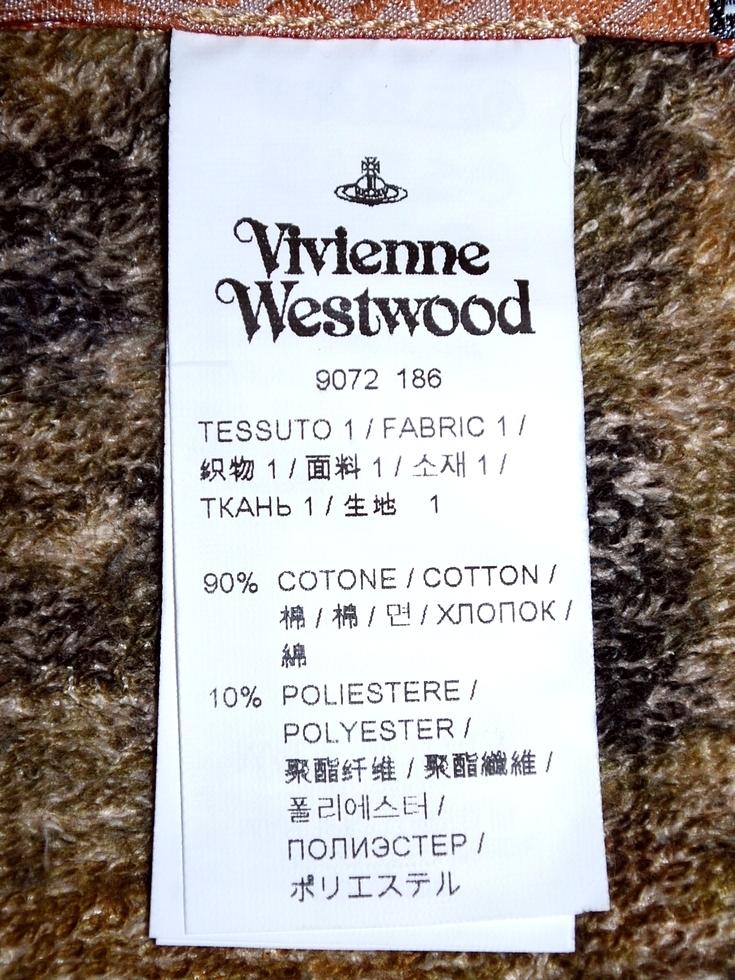 日本国内未入荷★イタリア製★地図 マップ プリント ビーチタオル★ヴィヴィアンウエストウッド マンVivienne Westwood MANタオルMAP Towel_画像8