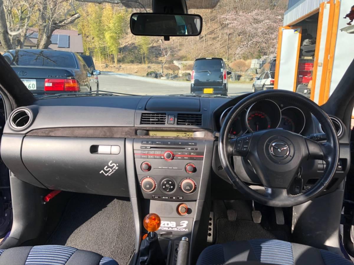 マツダ アクセラスポーツ 5MT 車高調付_画像3
