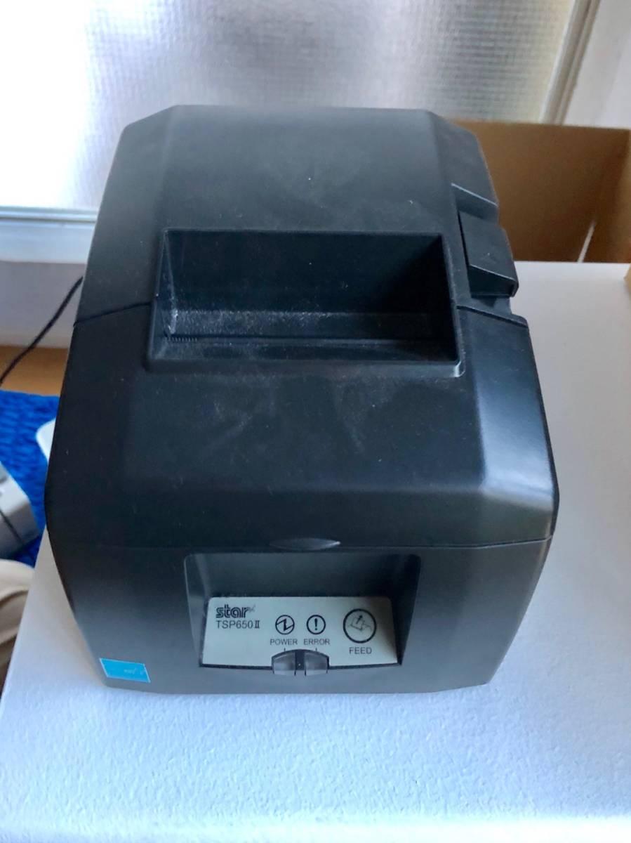 スター精密 サーマルプリンター TSP650Ⅱ ジャーナルプリンター 小型プリンター POS 印字速度最大300㎜/秒 電子レシート 高速印字