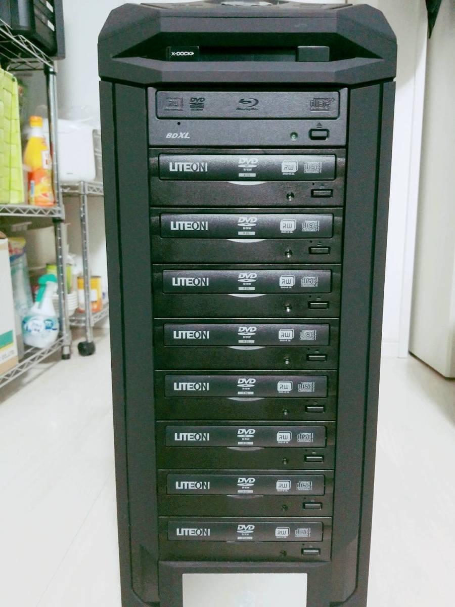 ☆BTOパソコン DVD・CDデュプリケーター corei7 6700 16GB☆