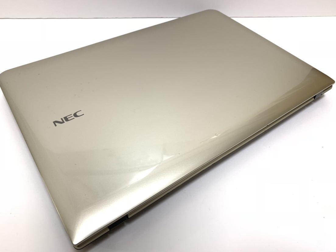 ☆美品☆激速+大容量♪ ゴールド♪ 最上級☆core i7-2760QM (新品)SSD512GB+HDD1000GB NEC LS150/H メモリ8GB office_画像7