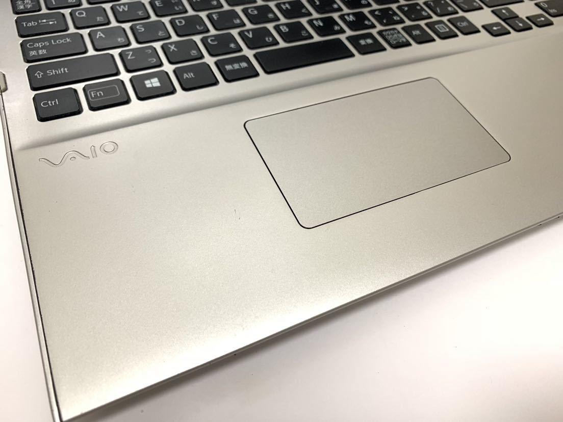 ☆激シブ☆タッチパネル付き♪激速+大容量♪最上級☆core i7(新品)SSD512GB Full HD♪ SONY VAIO SVT151A11N メモリ8GB ブルーレイ office_画像4