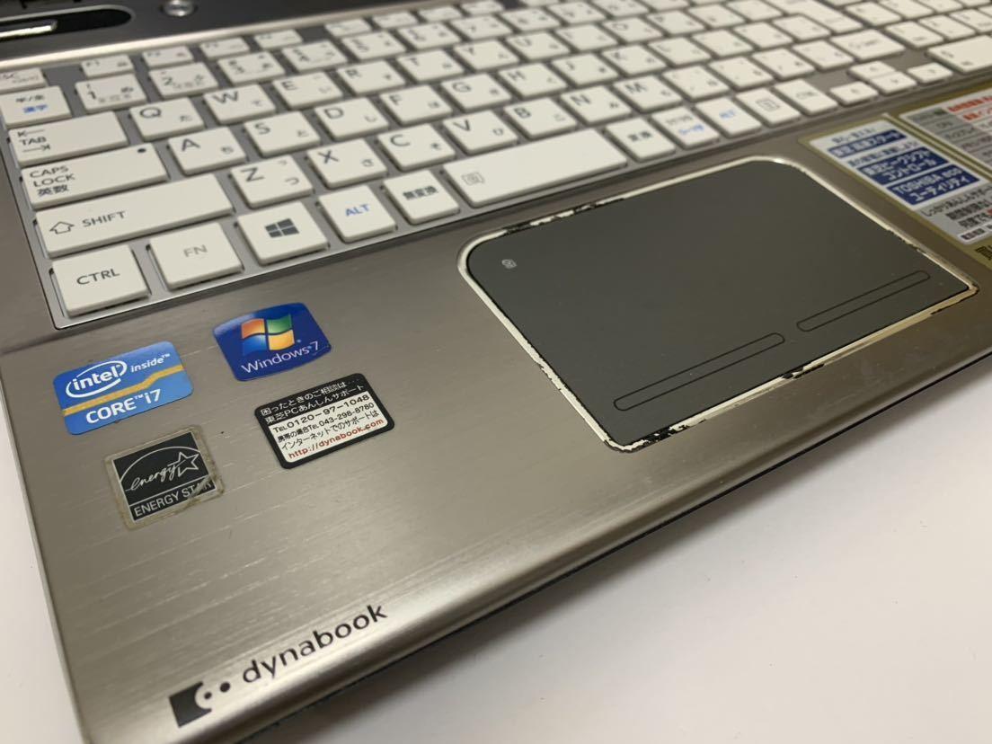 ☆美品☆ 激速+大容量♪ 最上級☆core i7 (新品)SSD512GB 東芝 Dynabook T652/58FBK メモリ8GB 新品キーボード♪ ブルーレイ office_画像5