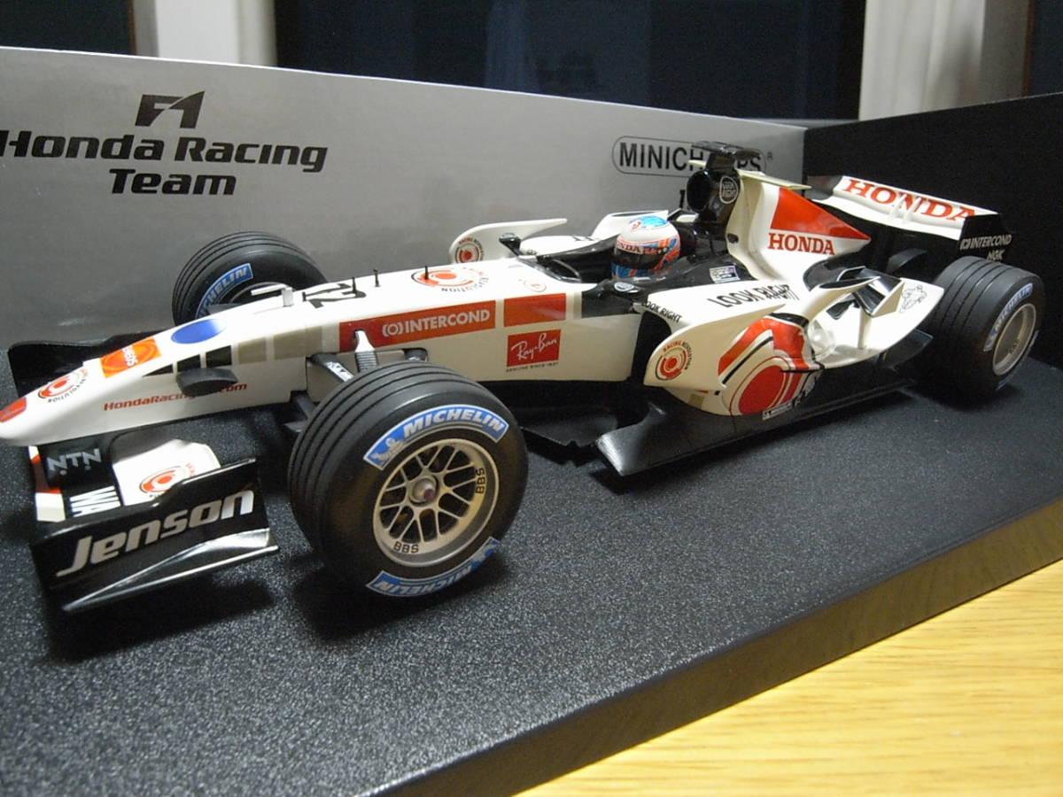 ★美品 1/18 PMA ホンダ RA106 2006 ジェイソン・バトン HONDA RACING F1 TEAM_画像2