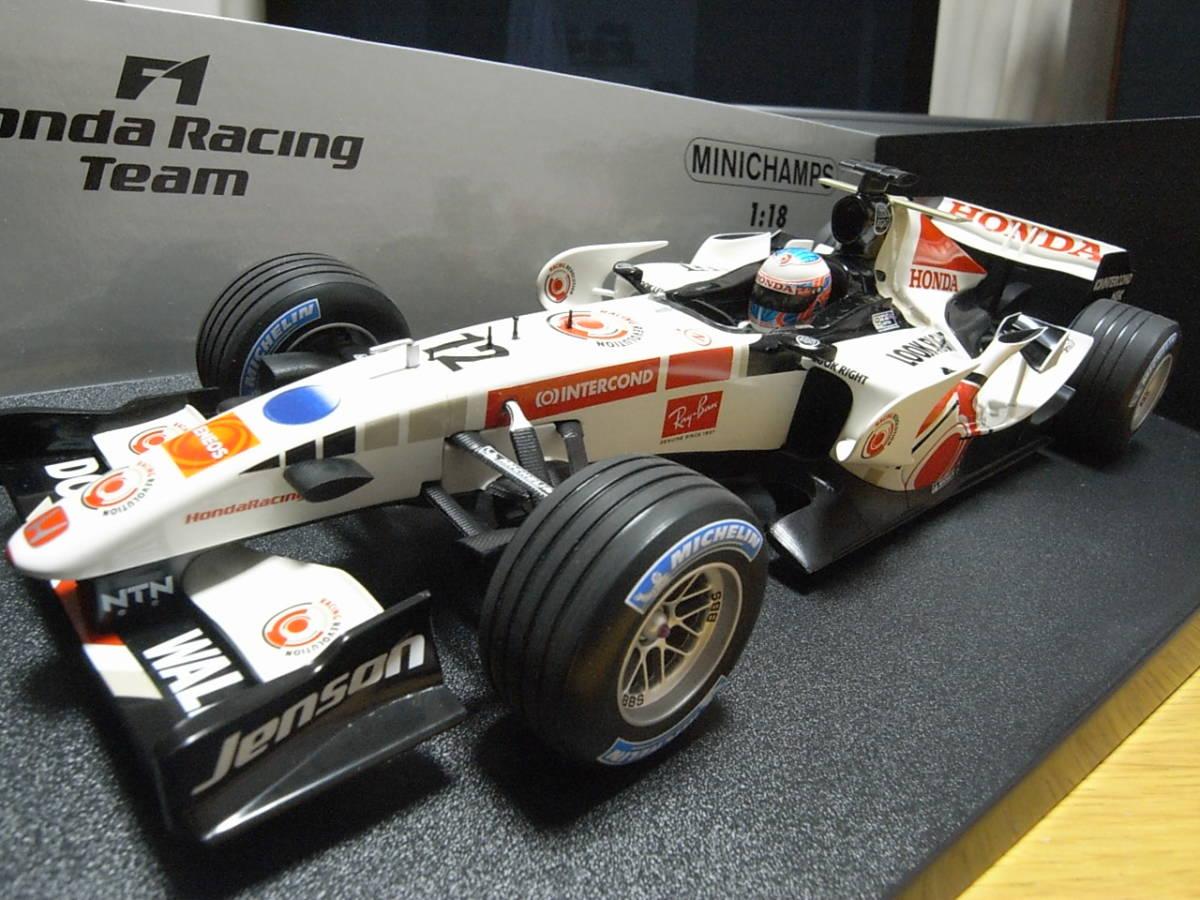 ★美品 1/18 PMA ホンダ RA106 2006 ジェイソン・バトン HONDA RACING F1 TEAM_画像5