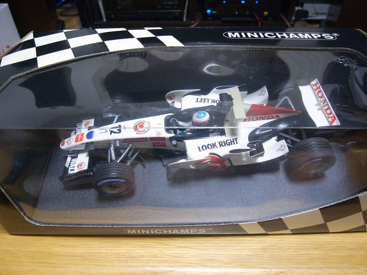 ★美品 1/18 PMA ホンダ RA106 2006 ジェイソン・バトン HONDA RACING F1 TEAM_画像6