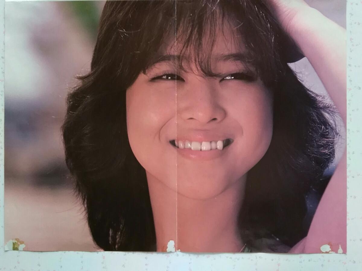 ♪ 松田聖子さん / 【水着 両面ポスター】/【61×41cm】 ♪_画像4