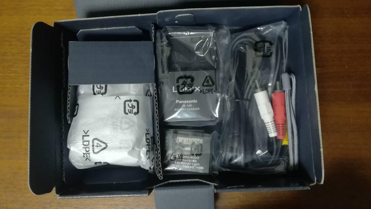 未使用 パナソニック DMC-TZ10 コンパクトデジタルカメラ 2GBSDカード+ケース付 LUMIX GPS機能 光学12倍ズーム 1210万画素 日本製 デジカメ_画像3