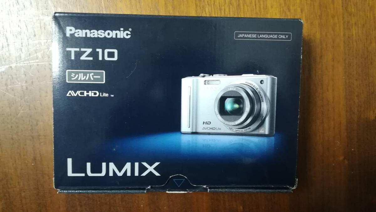 未使用 パナソニック DMC-TZ10 コンパクトデジタルカメラ 2GBSDカード+ケース付 LUMIX GPS機能 光学12倍ズーム 1210万画素 日本製 デジカメ_画像2