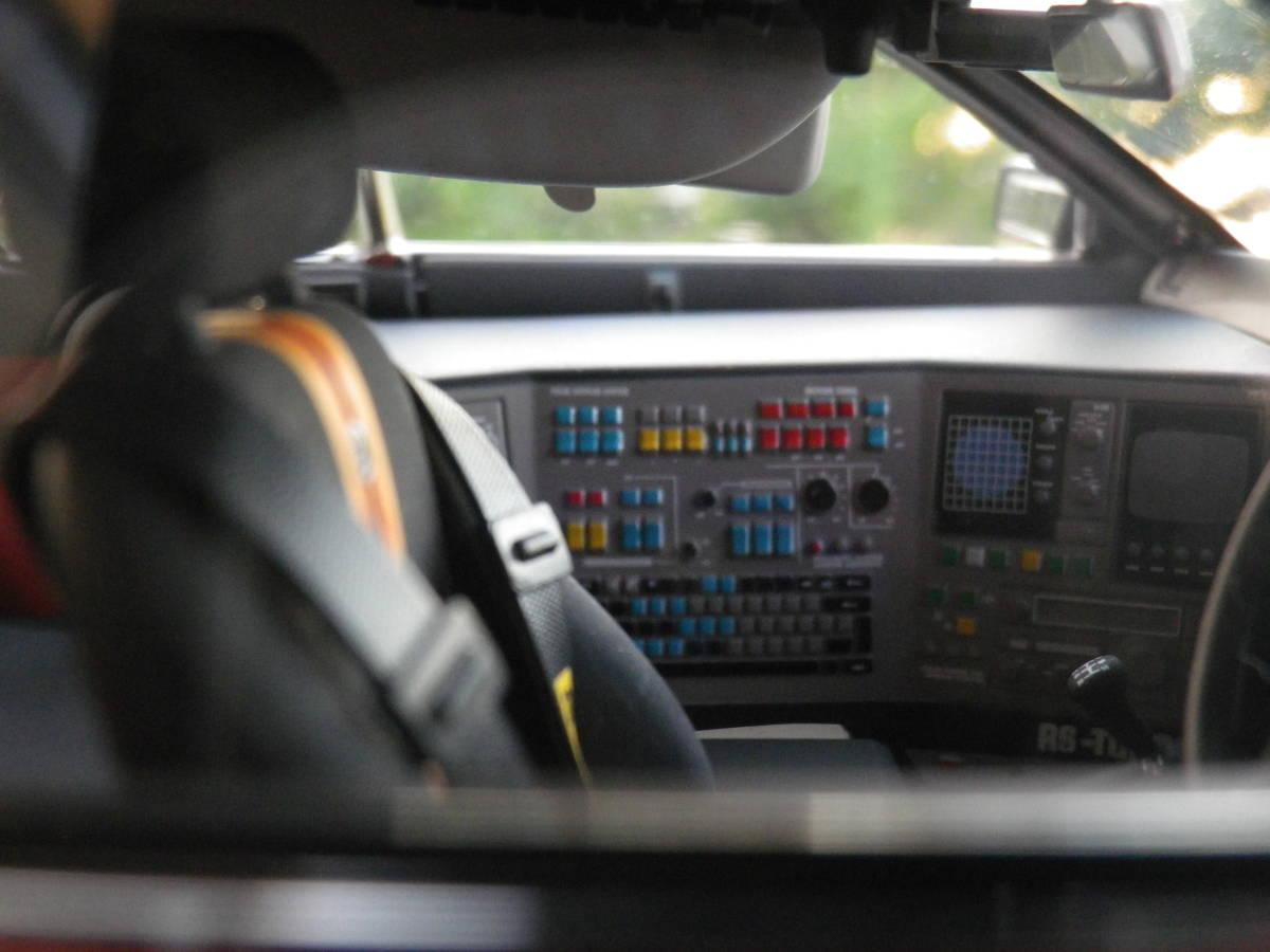 絶版!Aa 1/18 希少! 西部警察 Nissan スカイライン Macin RS-1 日産 DR30 大門軍団 パトカー RED / BLACK