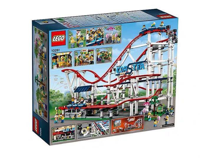 新品! レゴ クリエイター エキスパート ローラーコースター #10261 Roller Coaster 4124ピース 未開封 2019 _画像5