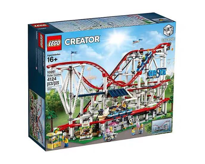 新品! レゴ クリエイター エキスパート ローラーコースター #10261 Roller Coaster 4124ピース 未開封 2019