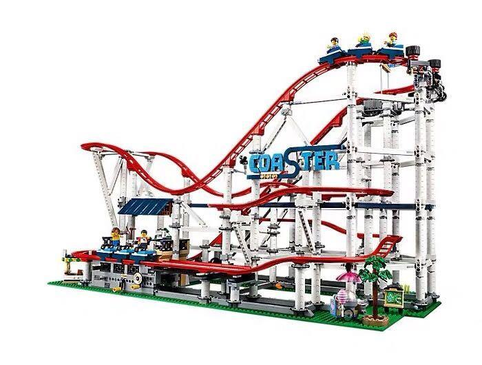 新品! レゴ クリエイター エキスパート ローラーコースター #10261 Roller Coaster 4124ピース 未開封 2019 _画像2