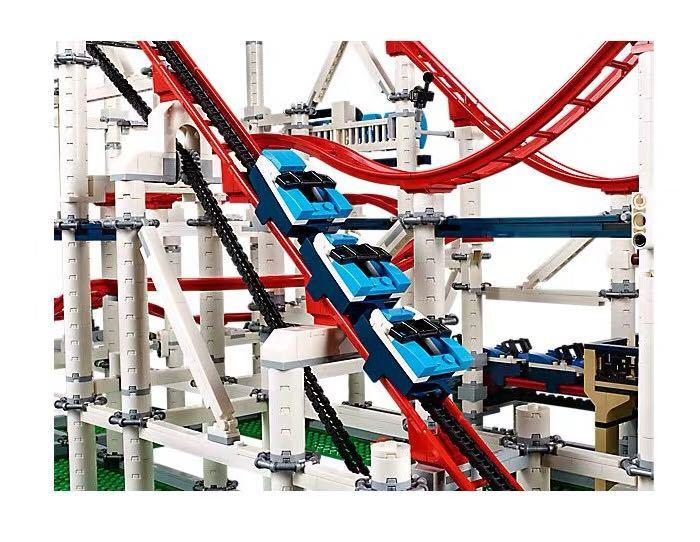 新品! レゴ クリエイター エキスパート ローラーコースター #10261 Roller Coaster 4124ピース 未開封 2019 _画像3