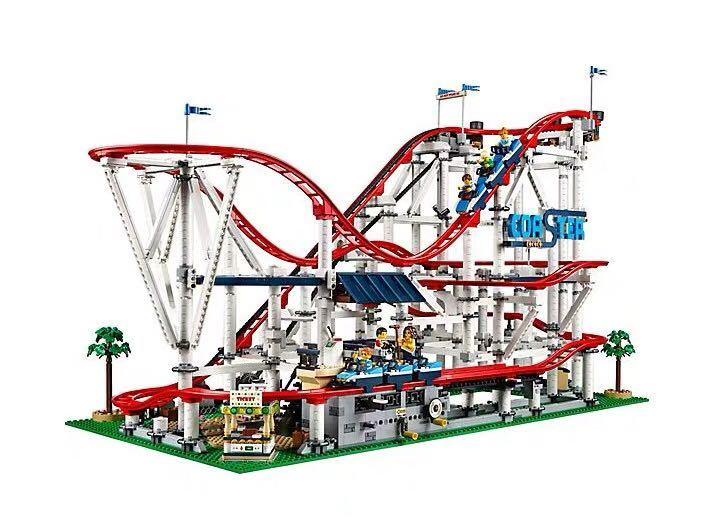 新品! レゴ クリエイター エキスパート ローラーコースター #10261 Roller Coaster 4124ピース 未開封 2019 _画像4