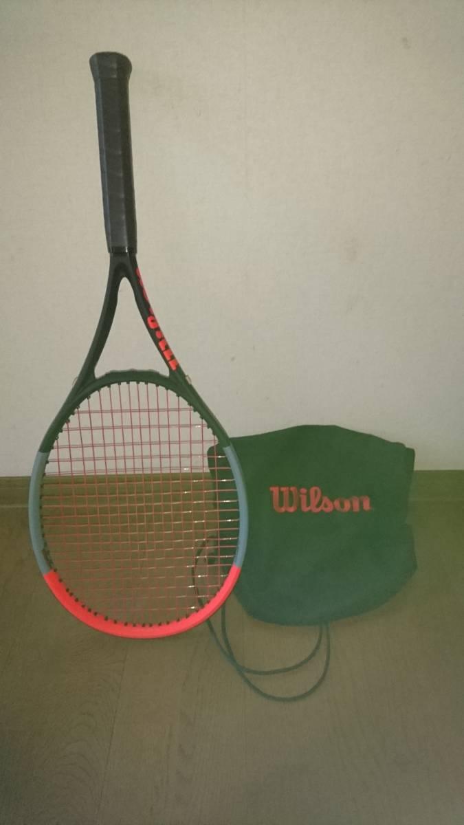 ウイルソンテニスラケット クラッシュ