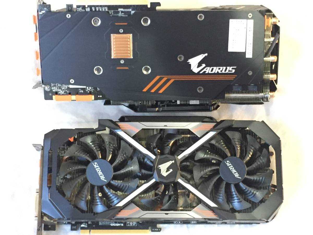 Gigabyte AORUS GeForce GTX1080Ti 11GB【効率冷却 2.5スロット】GV-N108TAORUS-11GD_画像2