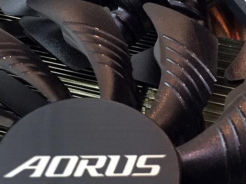 Gigabyte AORUS GeForce GTX1080Ti 11GB【効率冷却 2.5スロット】GV-N108TAORUS-11GD_画像8