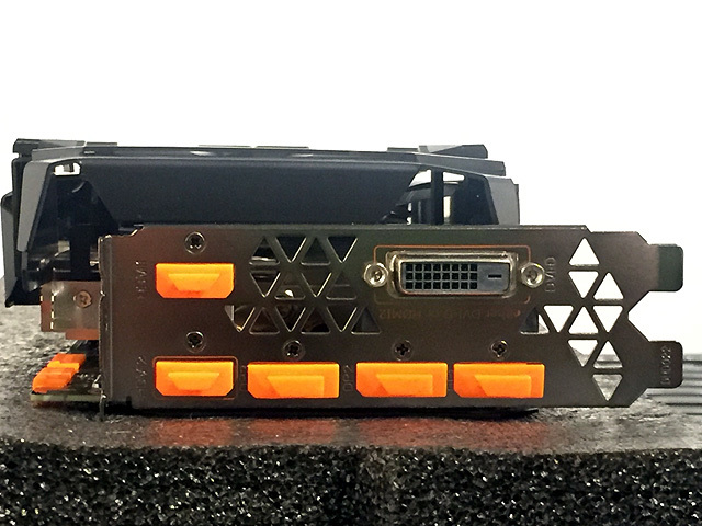 Gigabyte AORUS GeForce GTX1080Ti 11GB【効率冷却 2.5スロット】GV-N108TAORUS-11GD_画像6