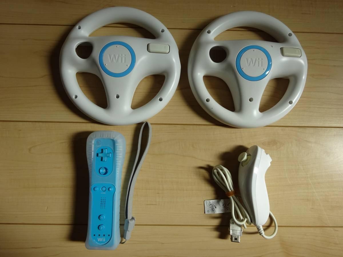 【タタコン2個+Wiiリモコンプラス2個等付き】Wii U 32GB、「マリオカート8」「スプラトゥーン」等人気ソフト含む14本+周辺機器多数セット_画像8