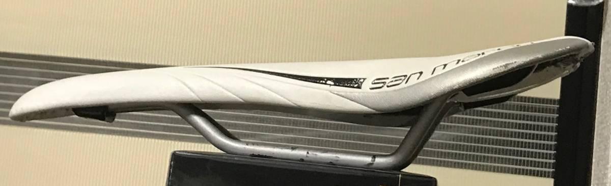 【中古良品】 Selle San Marco サドル Aspide Racing 軽量 ロード/MTB最適 ★最安_画像2