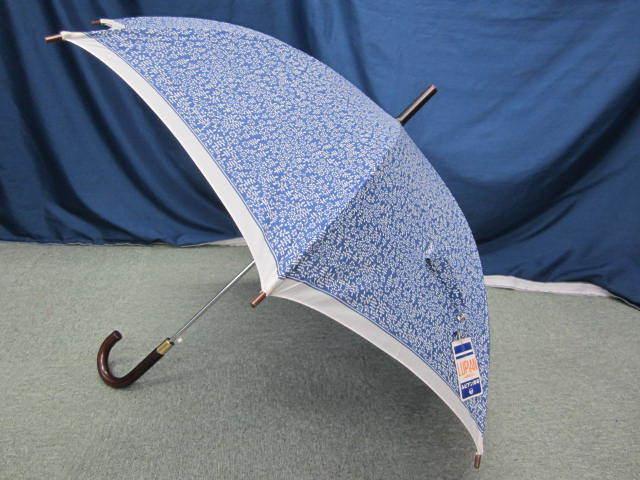 (せ-A1-241) 検品済み レディース 長傘 雨傘 5本セット 花柄 チェック柄 ストライプ柄 他 梅雨 通勤 通学 置き傘 中古_画像8