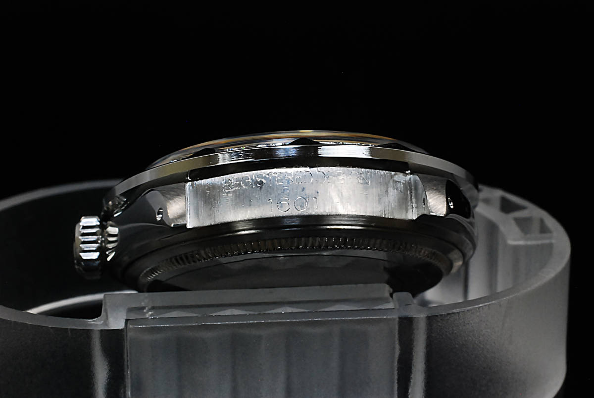 2年保証 ホワイトシェル ロレックス デイトジャスト 8+2P 天然エメラルド/ダイヤ Ref.1601 Cal.1570 OH済 仕上済 ROLEX メンズ 極美品_画像8