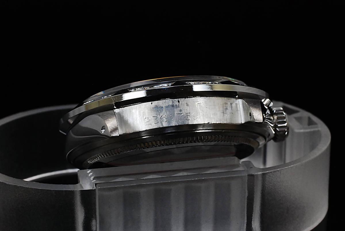 2年保証 ホワイトシェル ロレックス デイトジャスト 8+2P 天然エメラルド/ダイヤ Ref.1601 Cal.1570 OH済 仕上済 ROLEX メンズ 極美品_画像9