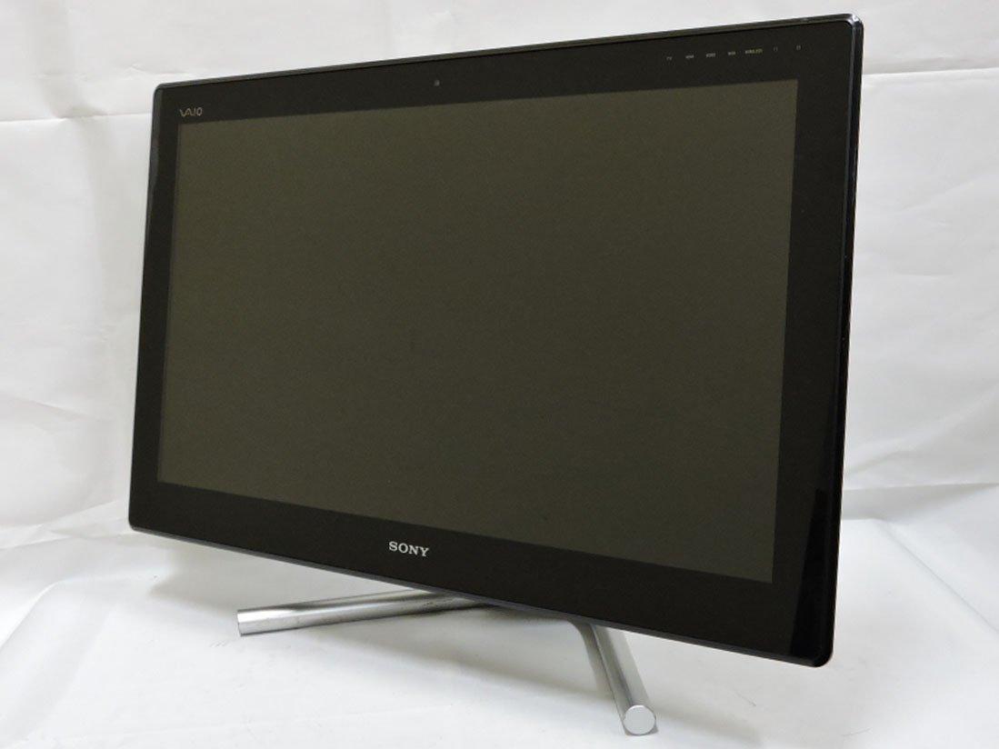 中古 SONY 24型 液晶一体型PC VAIO VPCL21AJ / Blu-ray/ Win10/ 二代i7-2820QM/ 8G/ 1TB/ GT540M /カメラ/ リカバリ/ Office付/ 税無_画像2