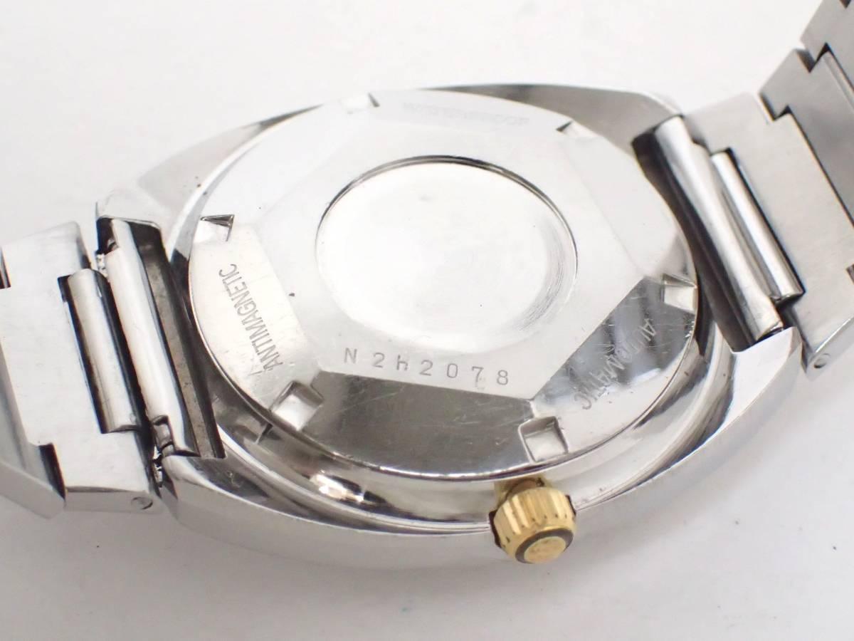 TECHNOSテクノス/FIRE BIRD/自動巻き/メンズ腕時計/デイデイト/カットガラス/グラデーション文字盤/純正ブレス[T]_画像6