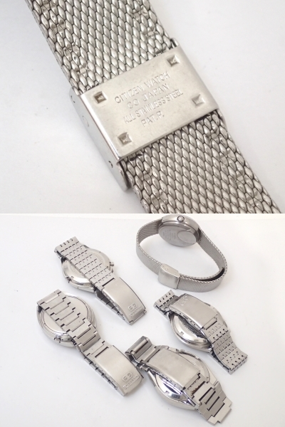 CITIZENシチズン/エレクトロニック/コスモトロン/電子時計/メンズ腕時計/電磁テンプ式/5点/ジャンク[T]_画像8
