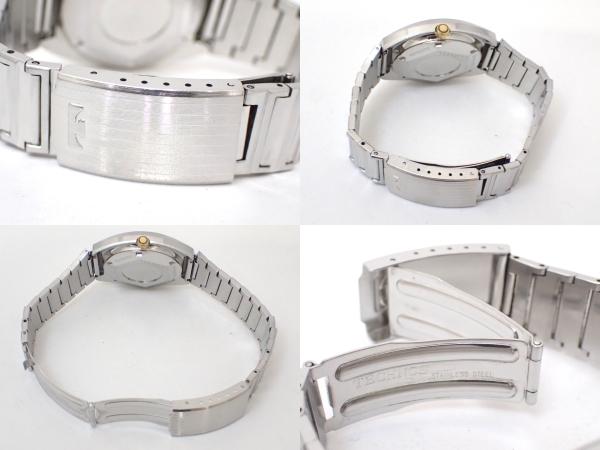 TECHNOSテクノス/FIRE BIRD/自動巻き/メンズ腕時計/デイデイト/カットガラス/グラデーション文字盤/純正ブレス[T]_画像9