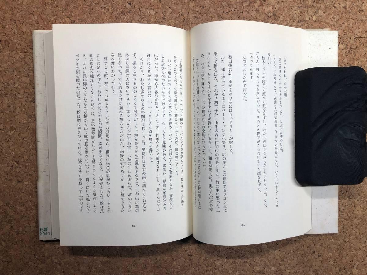 花野 村田喜代子 講談社 1993年初刷 帯付き 人生の峠の向こうには、どんな花々が咲いているのだろうか_画像8