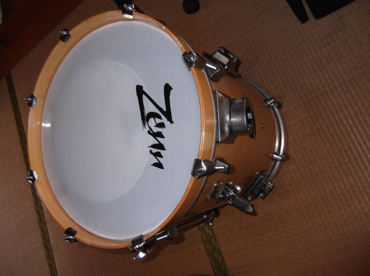ZEN(台湾製)コンパクトドラム16バス4点SET・専用スネア含む・中古品_画像3
