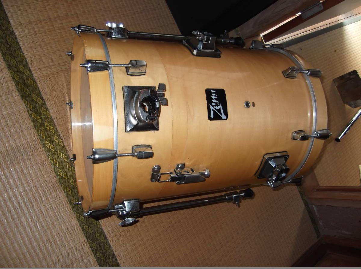 ZEN(台湾製)コンパクトドラム16バス4点SET・専用スネア含む・中古品_画像6