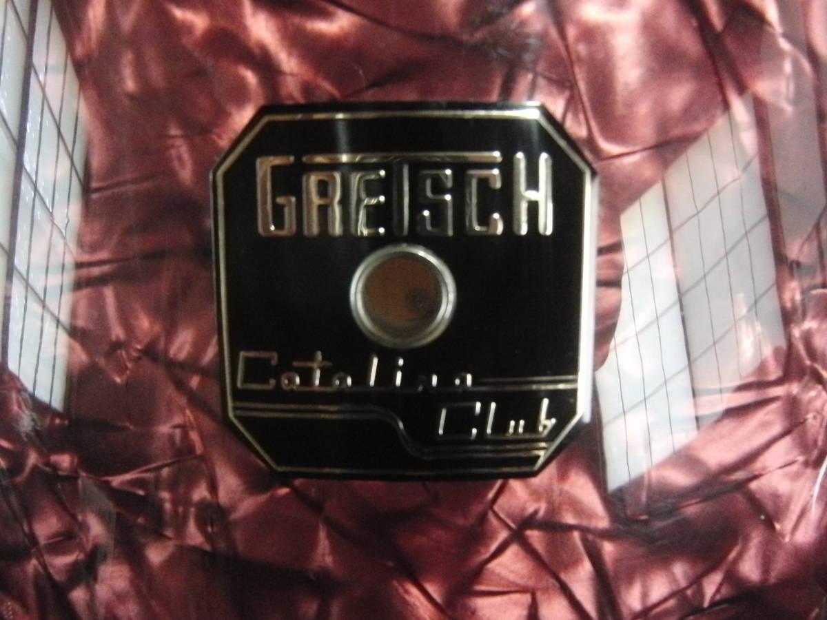 グレッチ・18インチ3点SETタムホルダー・フロア足附属・中古美品_画像5