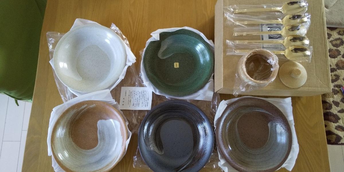 四季の器 お皿セット5枚 未使用保管品_画像1