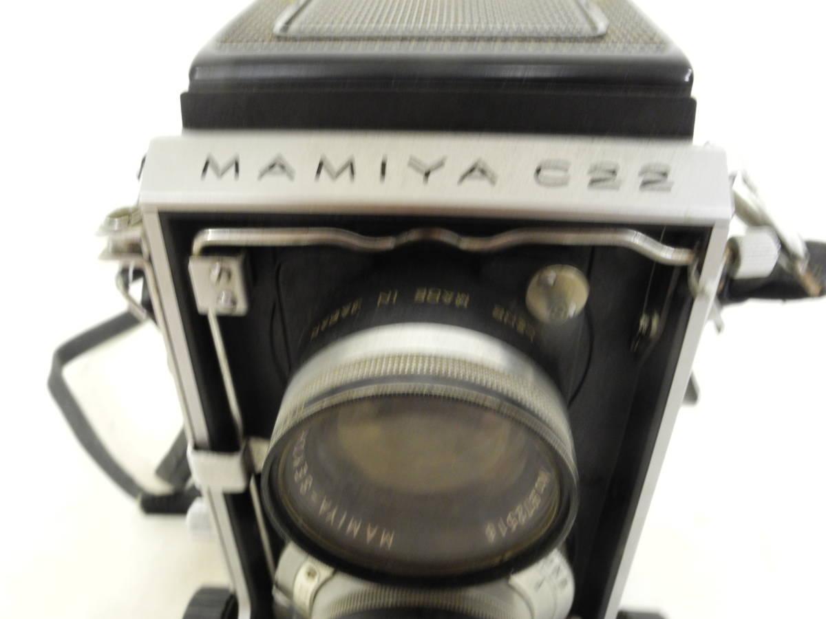 【一円出品】Mamiya 二眼レフ C22 ジャンク品 フィルムカメラ   AR_画像3