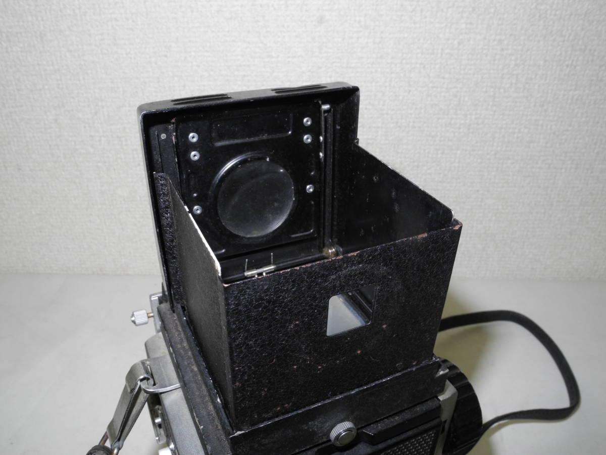 【一円出品】Mamiya 二眼レフ C22 ジャンク品 フィルムカメラ   AR_画像5