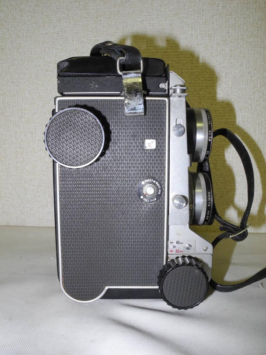 【一円出品】Mamiya 二眼レフ C22 ジャンク品 フィルムカメラ   AR_画像7