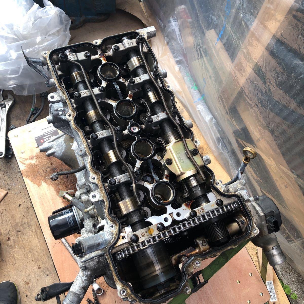 SR20 ターボエンジン S15 ヘッドガスケットメタル 社外カム エンジンのみ シルビア