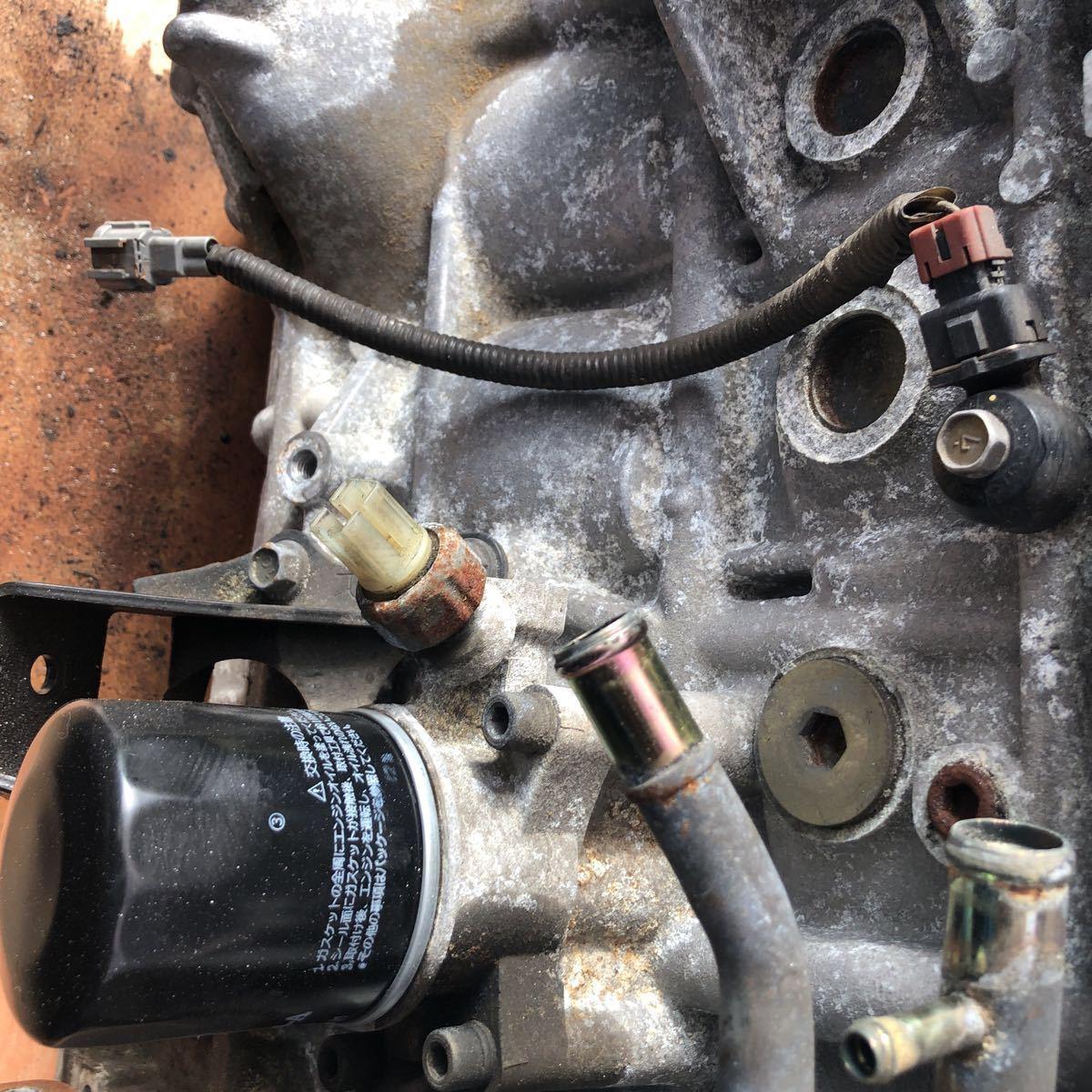 SR20 ターボエンジン S15 ヘッドガスケットメタル 社外カム エンジンのみ シルビア_画像6