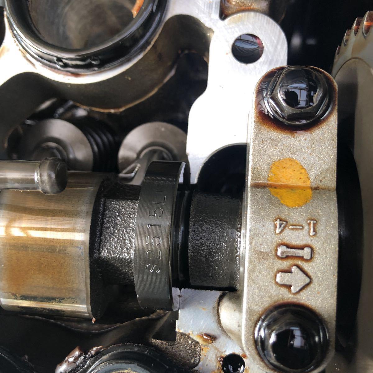 SR20 ターボエンジン S15 ヘッドガスケットメタル 社外カム エンジンのみ シルビア_画像2