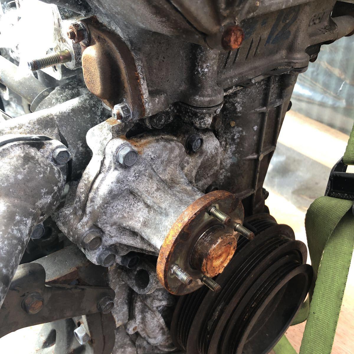 SR20 ターボエンジン S15 ヘッドガスケットメタル 社外カム エンジンのみ シルビア_画像5
