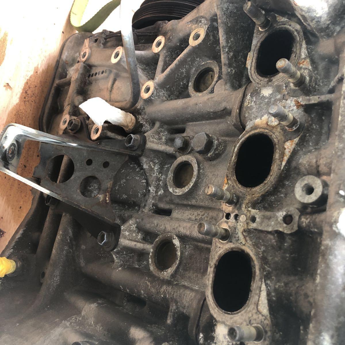 SR20 ターボエンジン S15 ヘッドガスケットメタル 社外カム エンジンのみ シルビア_画像8
