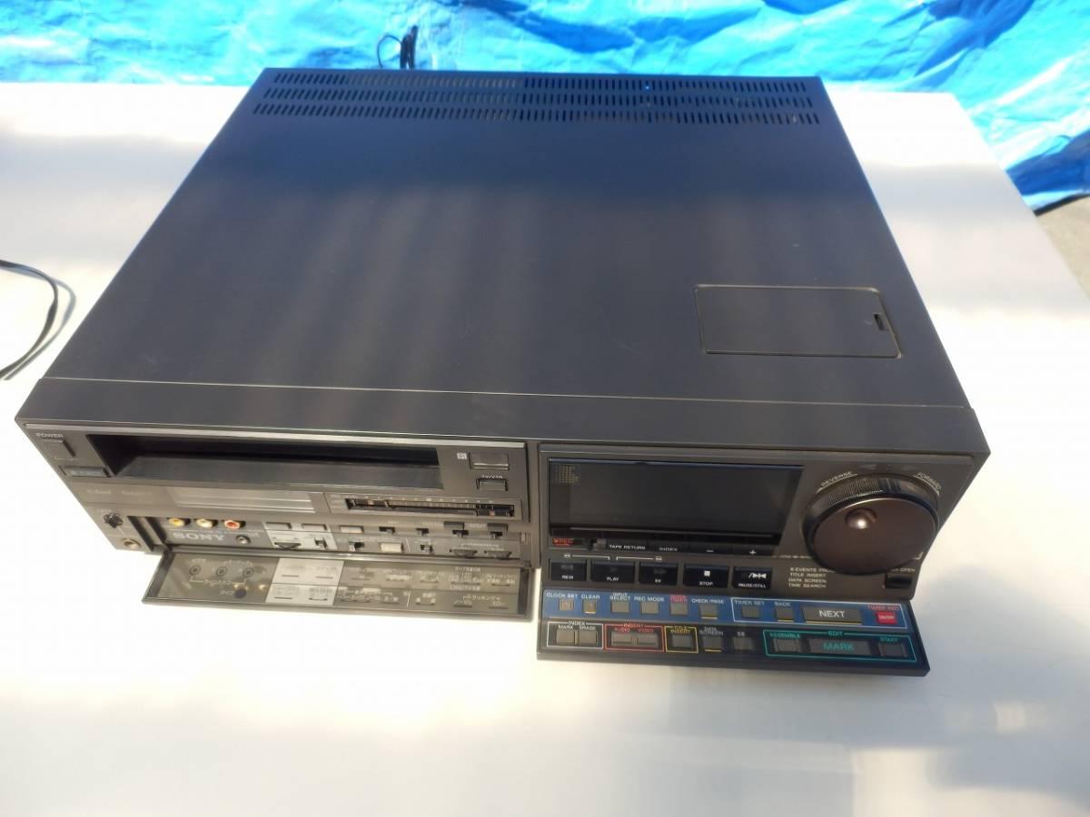 SONY ソニー SL-HF3000 ベータビデオデッキ 通電確認済み ※一応ジャンク扱い_画像4
